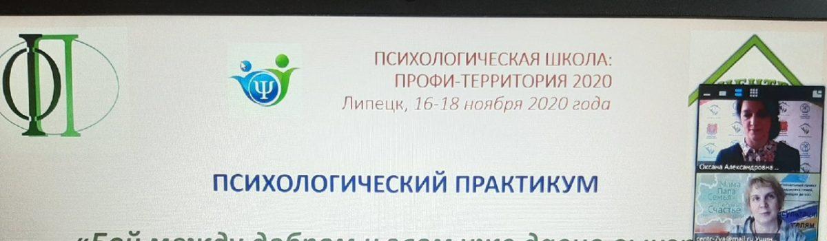 Психологическая школа: профи-территория 2020