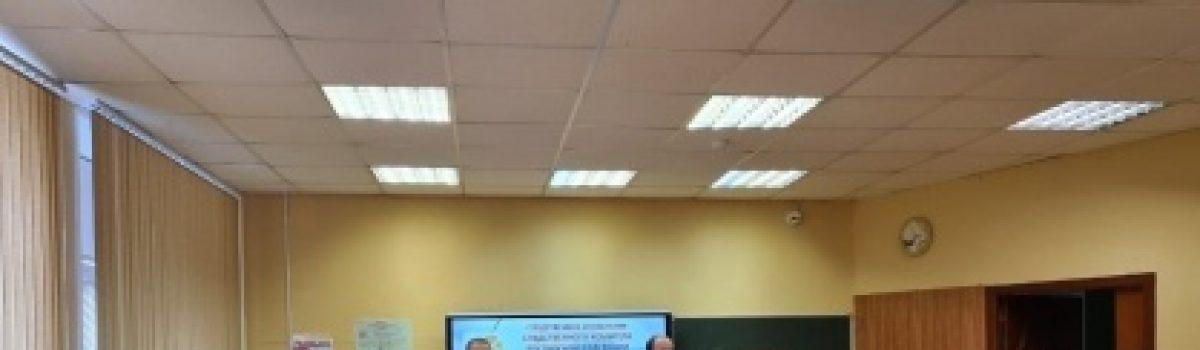 Офицеры следственного управления СК России по Липецкой области организовали в школах уроки кибербезопасности.